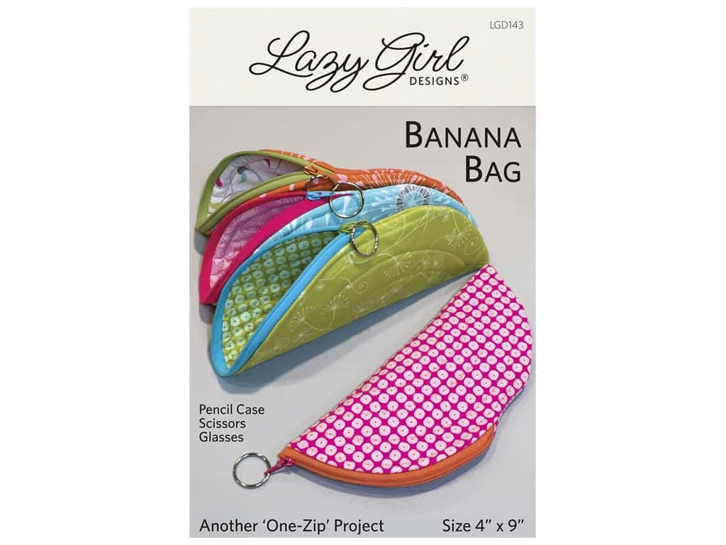 Lazy Girl Littles - Banana Bag