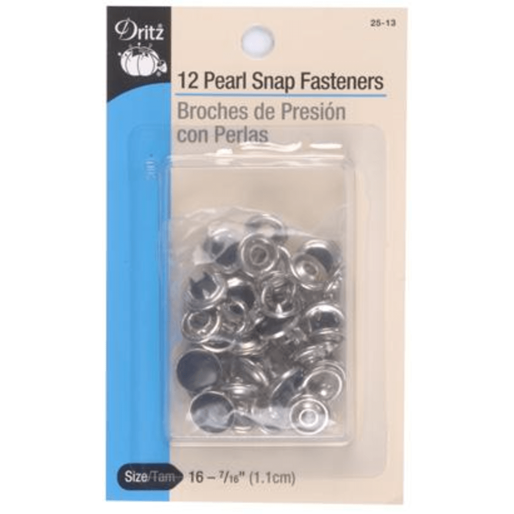 Dritz - Snap Fastners - 12 sets