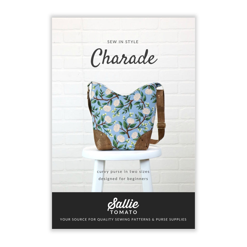 Sallie Tomato - Charade Purse Pattern