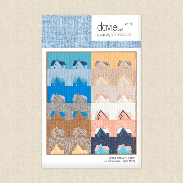 Carolyn Friedlander - Davie Quilt Pattern