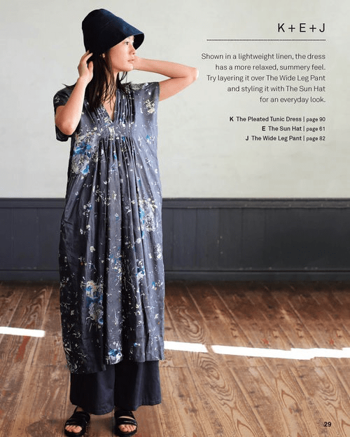 Nani Iro Sewing Studio - 18 Timeless Patterns to Sew, Wear and Love - Naomi Ito