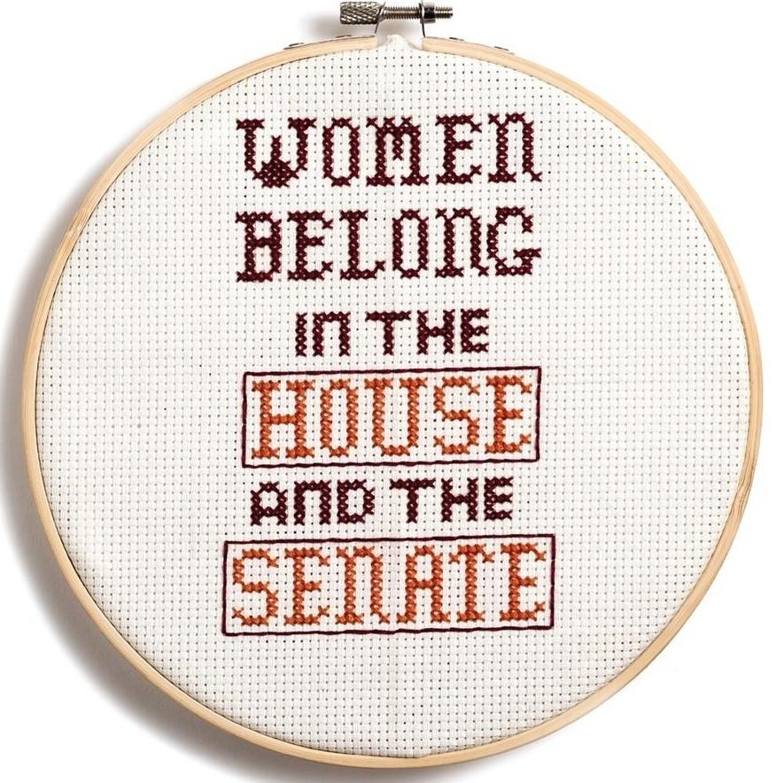 Feminist Icon Cross-Stitch: 30 Daring Designs to Celebrate Strong Women - Anna Fleiss and Lauren Mancuso