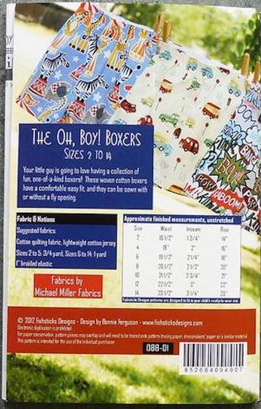 Fishsticks Designs - The Oh, Boy! Boxers