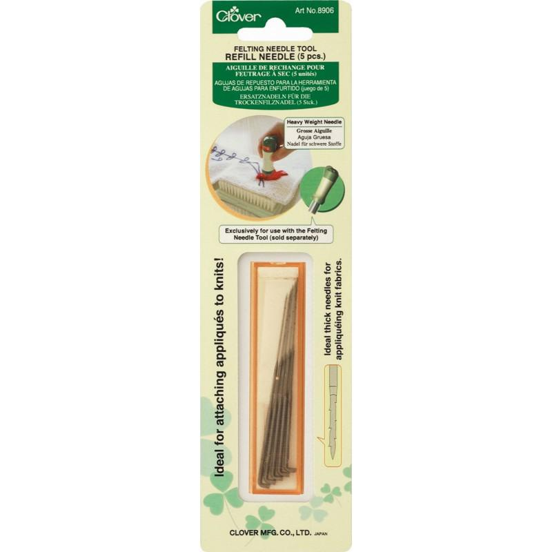 Clover - Needle Felting Tool Refill - Various