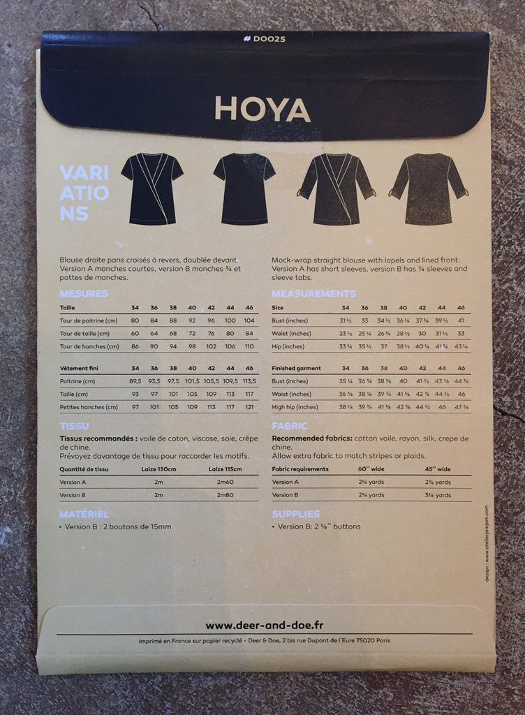 Deer & Doe - Hoya Blouse