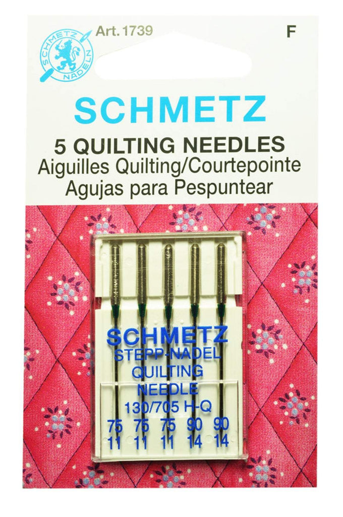 Schmetz Needles - Quilting Needles - 5 count