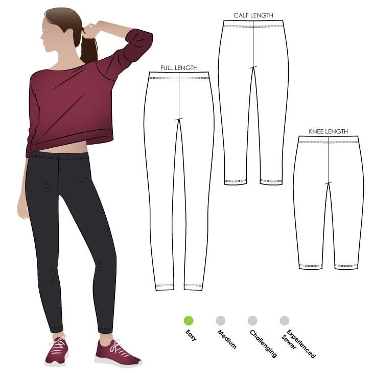 Style Arc - Laura Knit Legging