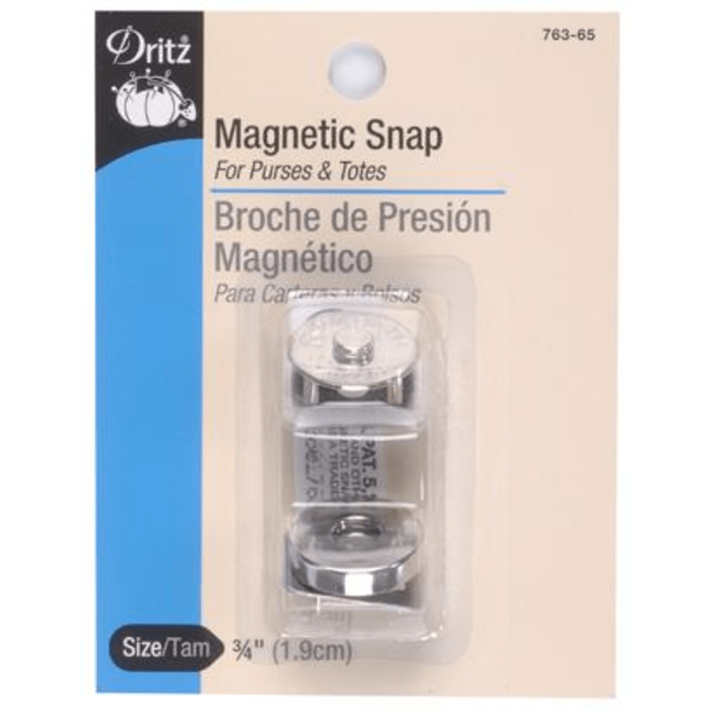 Dritz - Magnetic Snap - Nickel - 3/4""