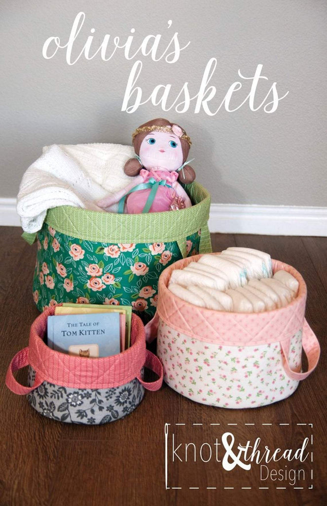 Knot and Thread Designs - Olivia's Baskets