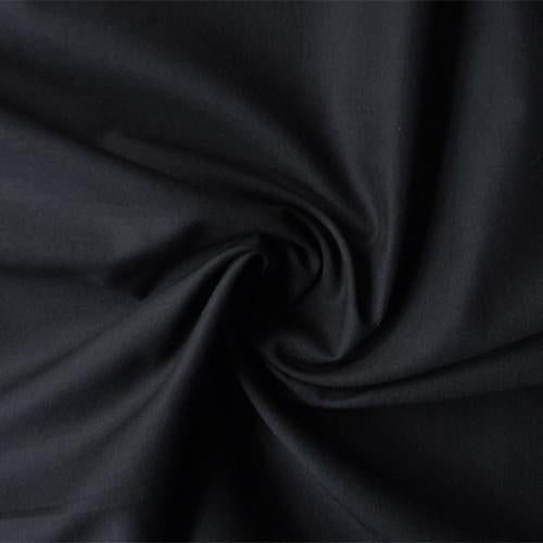 Pima Cotton Batiste - Black - 44/45""