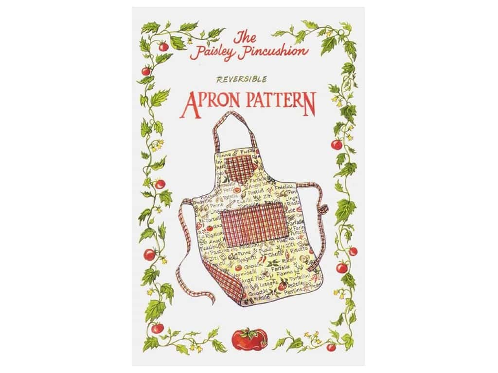The Paisley Pincushion - Reversible Apron