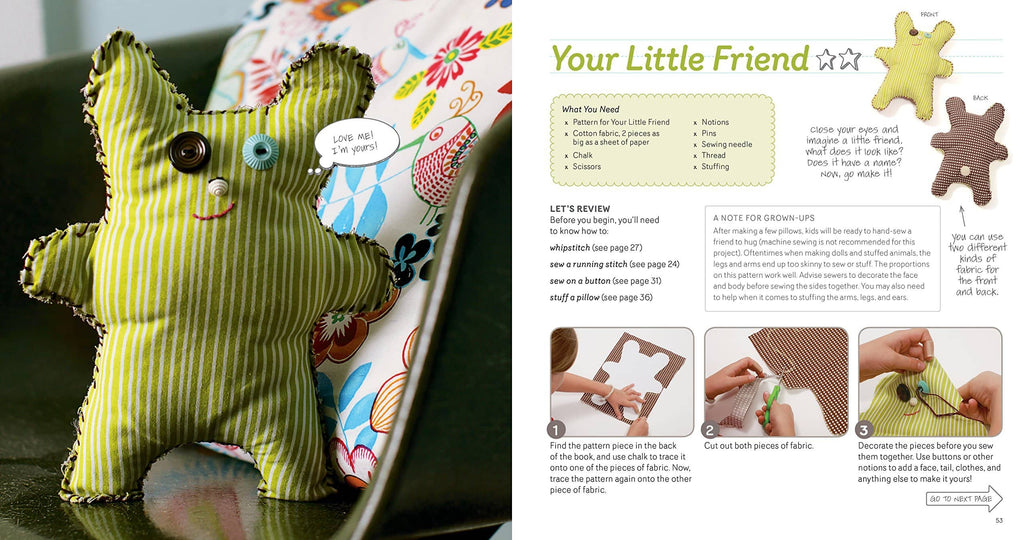Sewing School: 21 Sewing Projects Kids Will Love to Make - Andria Lisle