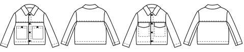 Papercut Patterns - Stacker Jacket