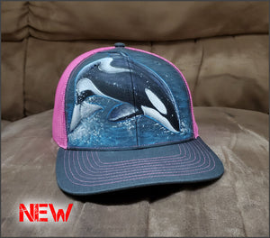 Split-Second Orca - Richardson Adjustable Mesh Snapback