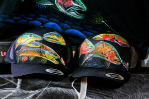 YuPoong Snapback Black- Triple Slam Browns and Cutthroats