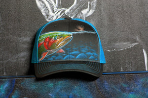 Richardson snapback Electric Blue- Trout Rise