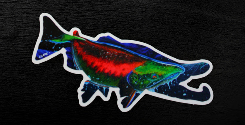Return of the Sockeye- 6.5x2.5 inch Vinyl Decal