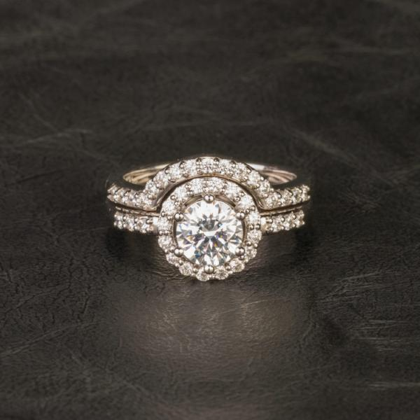 Custom Jewelry, ring, white gold, diamonds, wedding band, llyn strong, Greenville, South Carolina