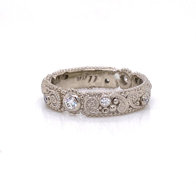 Custom Jewelry, ring, white gold, white diamonds, llyn strong, Greenville, South Carolina
