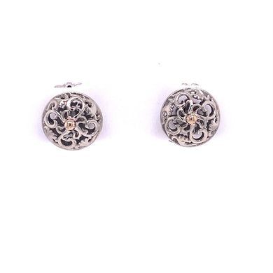 Custom Jewelry, earrings, white gold, studs, llyn strong, Greenville, South Carolina