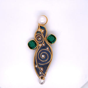 Custom Jewelry, Patricia Angel Brooch, llyn strong, Greenville, South Carolina