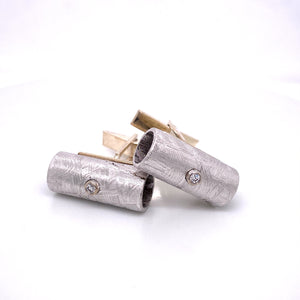 custom jewelry, gold, silver, diamond, men's jewelry, cuff links, llyn strong, greenville, south carolina