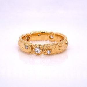 custom jewelry, gold, diamond, wedding band, engagement ring, llyn strong, greenville, south carolina