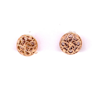 Custom Jewelry, earrings, rose gold, studs, llyn strong, Greenville, South Carolina