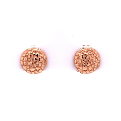 Custom Jewelry, 18k rose gold bits and pieces studs, llyn strong, Greenville, South Carolina