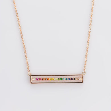 Custom jewelry, equality necklace, sydney strong, greenville, south carolina