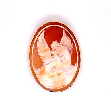 custom jewelry, 18k yellow gold, cameo, Modullyn Clasp, llyn strong, Greenville, South Carolina