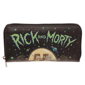 Rick and Morty Girls Wallet Accessories - Omni Geek