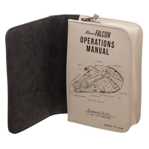 Star Wars Millenium Falcon Operations Manual Handbag Accessories - Omni Geek