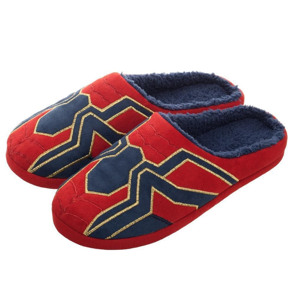 Marvel Avengers Infinity War Iron Spider-Man Slippers Shoes - Omni Geek