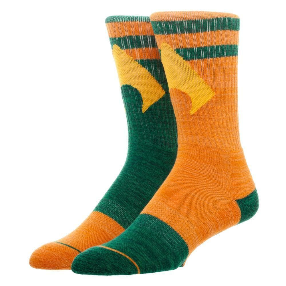 DC Comics Aquaman Crew Socks Accessories - Omni Geek