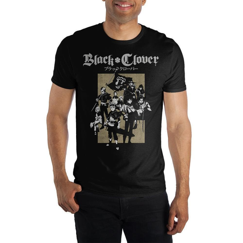 Black Clover Manga T-Shirt Tops - Omni Geek
