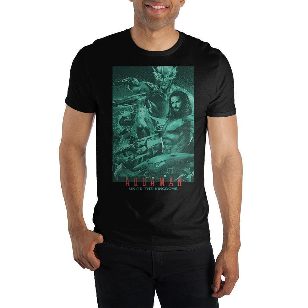 DC Comics Aquaman Movie T-Shirt Tops - Omni Geek