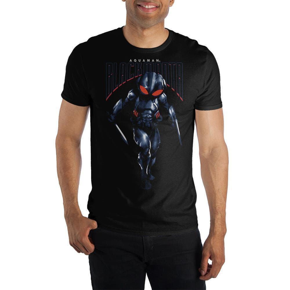 DC Comics Aquaman Black Manta T-Shirt Tops - Omni Geek
