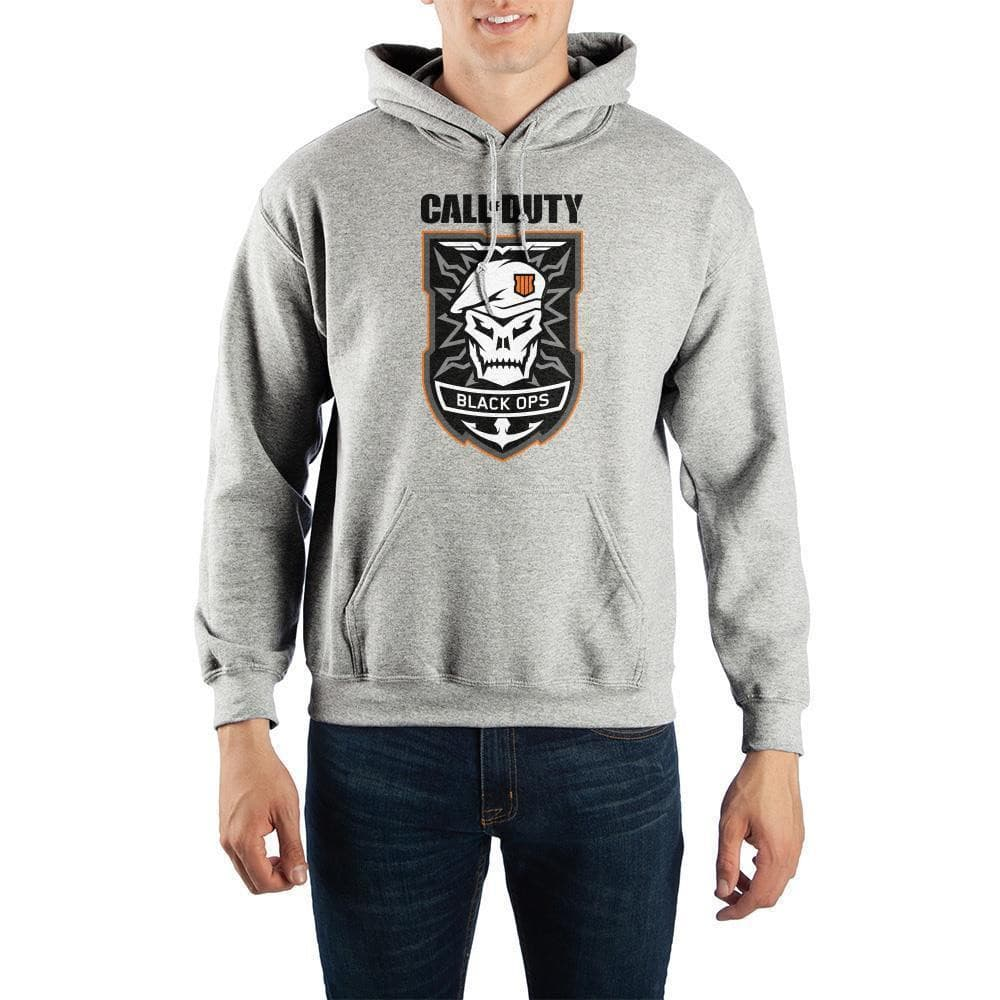 Call of Duty: Black Ops 4 Skull Pullover Hoodie Outerwear - Omni Geek