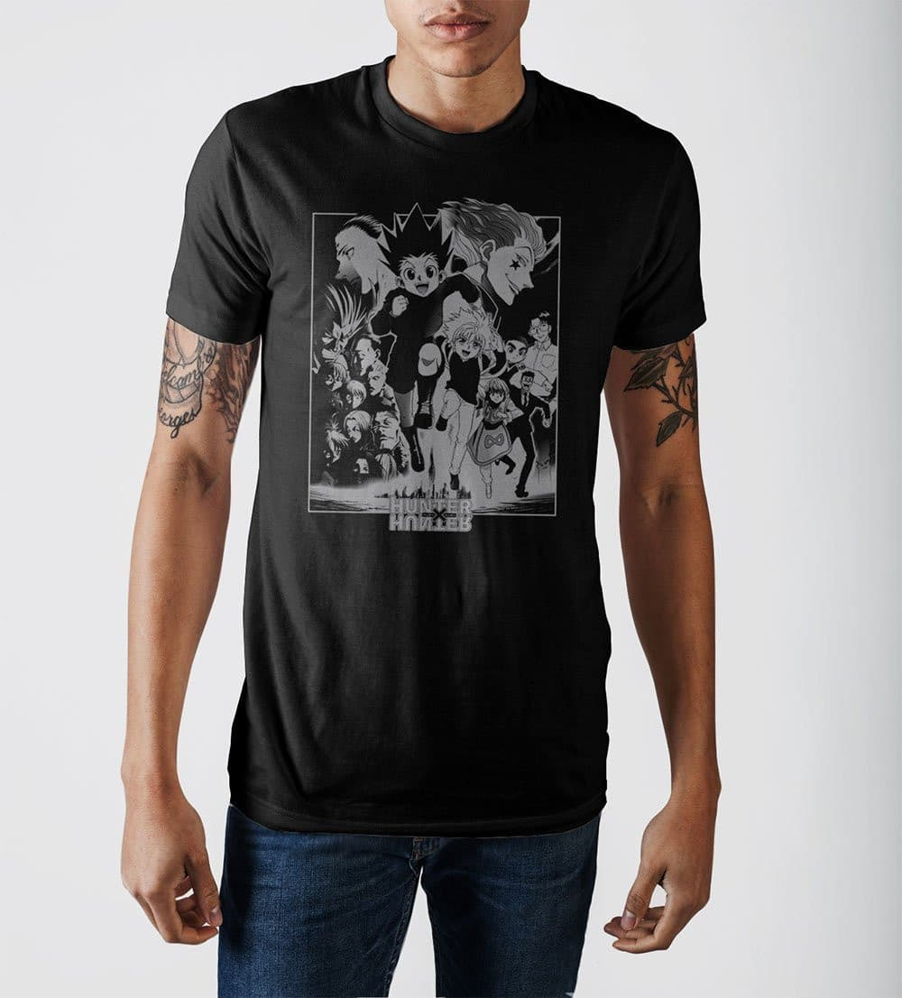 Hunter x Hunter Characters T-Shirt Tops - Omni Geek