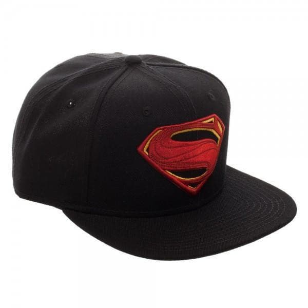 DC Comics Superman Icon Core Line Embroidered Snapback Hat Accessories - Omni Geek