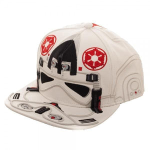 Star Wars AT-AT Driver Big Face Snapback Hat Accessories - Omni Geek