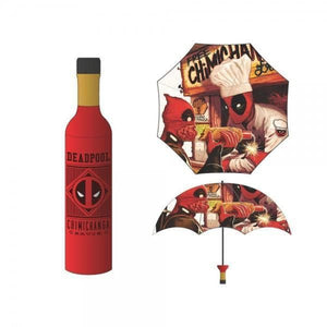 Marvel Deadpool Chimichanga Bottle Umbrella Accessories - Omni Geek