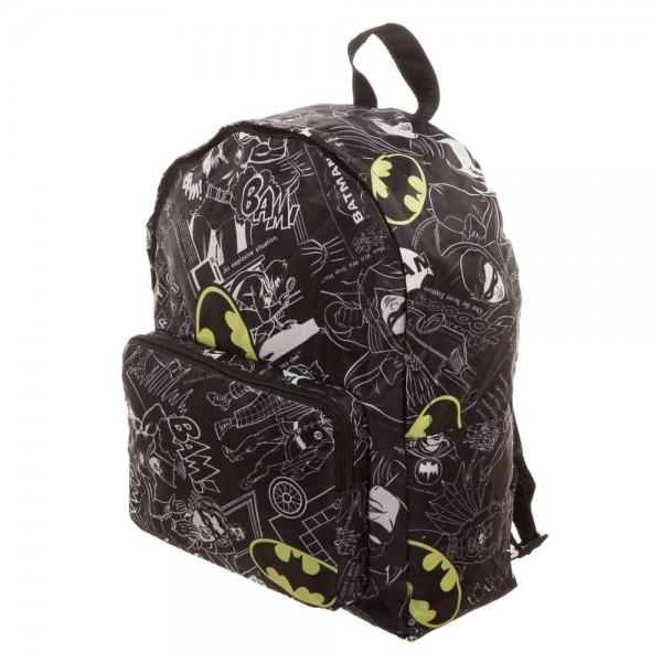 Batman Packable Backpack Accessories - Omni Geek
