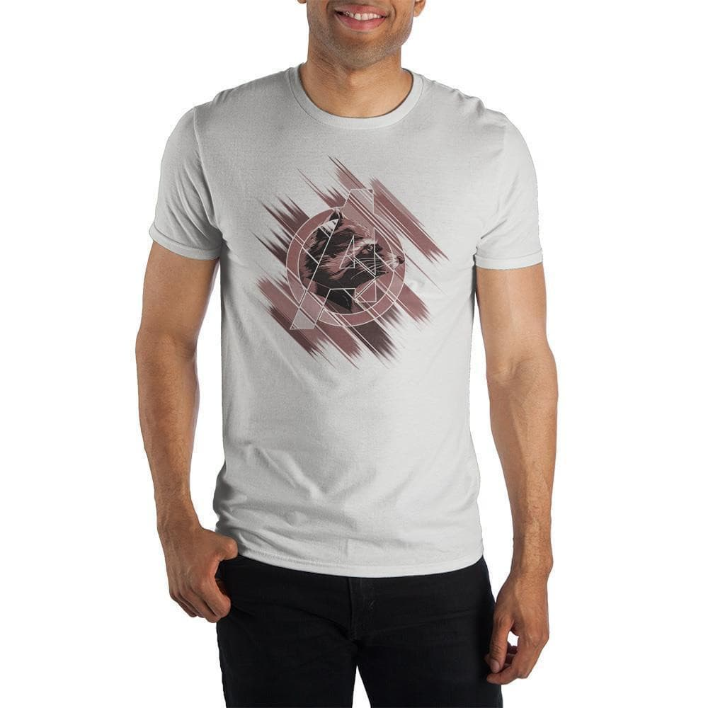 Marvel Avengers Endgame Guardians of The Galaxy Rocket Raccoon T-Shirt Tops - Omni Geek