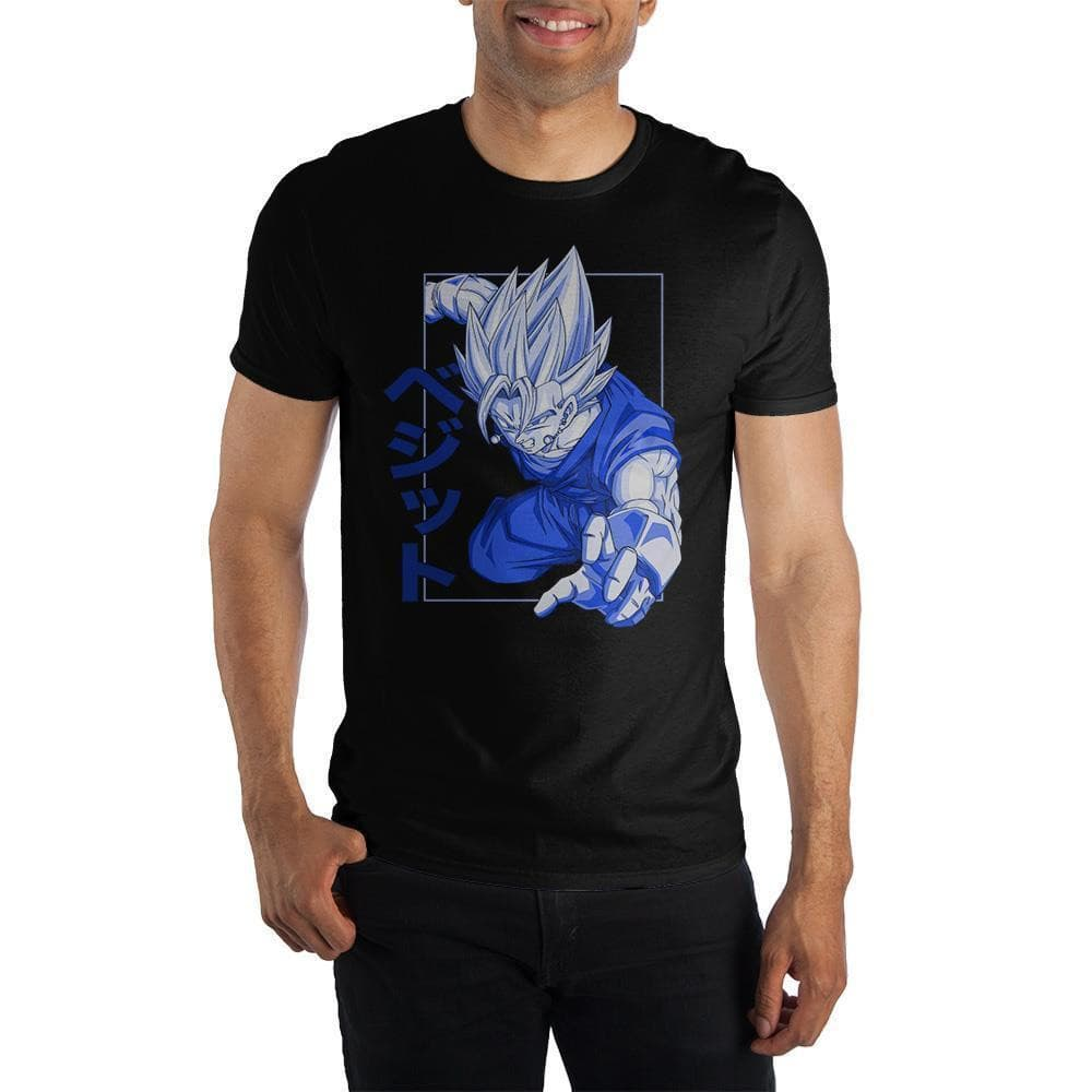 Dragon Ball Z Goku Super Saiyan Kanji T-Shirt Tops - Omni Geek