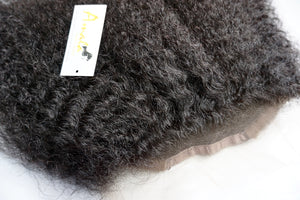 Amala Virgin Hair- Swiss lace- pre plucked- natural look- hair extensions- human hair- high quality hair- Indian hair- Cambodian hair- Peruvian Hair- 360 lace frontal-lace- Swiss lace- Wig install- Kinky lace frontal- Kinky curly lace frontal-