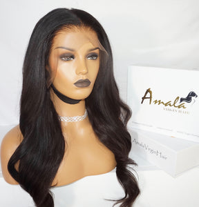 "Amala Virgin Hair- Custom wig- hair extensions- wavy hair extensions- 18""- human hair- quality hair- Filipino hair-"