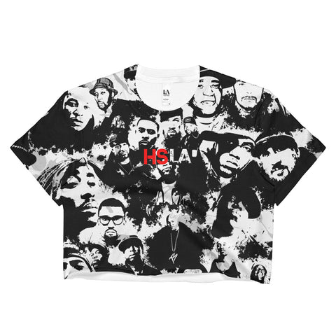 HSLA Hip Hop Kings Ladies Crop Top