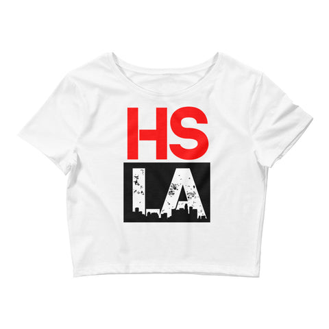 HSLA City Dreams Women's Crop Tee